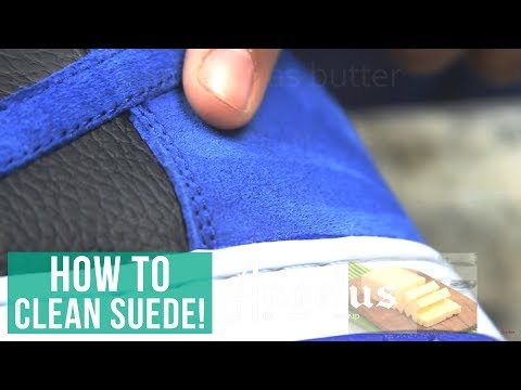 How To Clean Suede Shoes | Angelus Easy Cleaner & Suede Kit