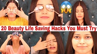 20 Outstanding Beauty Hacks to get rid of Dark Circles in 1 Weeks 100% Effective|Be Natural