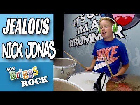 Jealous   Nick Jonas   Drum Cover   Briggs