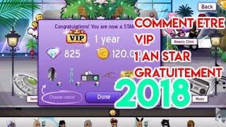 MSP: COMMENT ETRE VIP 1 AN STAR GRATUITEMENT 2018 (ca marche)