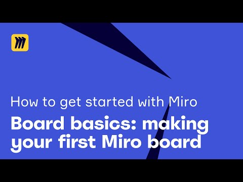 Getting Started with Miro: Board Basics