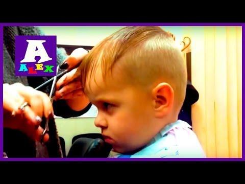 Модная прическа Делаем новую стрижку Стрижка для мальчика 2016 Hairstyle for boy