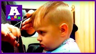 Модная прическа Делаем новую стрижку Стрижка для мальчика Hairstyle for boy