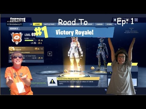 The Worst Idea Ever... | Road to Victory Royale! (ft. Bryce) Ep:1