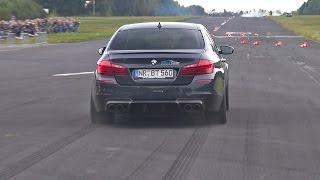 700HP BMW M5 F10 w/ Akrapovic Exhaust! Brutal Accelerations!