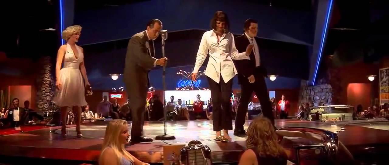 Pulp Fiction Dance Scene John Travolta Uma Thurman Hq Youtube