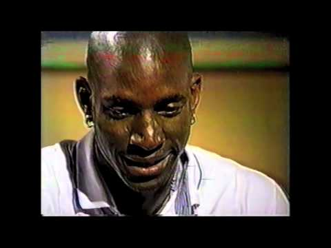 1997 : Kevin Garnett Interview w/ David Aldridge