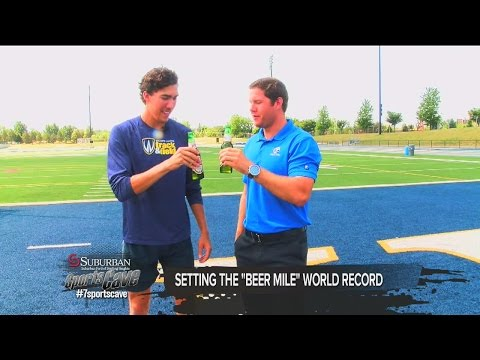 One-on-one with Beer Mile World Record holder Corey Bellemore