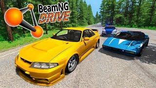 ПОЛИЦЕЙСКАЯ ПОГОНЯ ЗА NISSAN SKYLINE В BEAMNG DRIVE! РЕАЛЬНЫЙ ФОРСАЖ! (BeamNG.drive ПОГОНЯ)