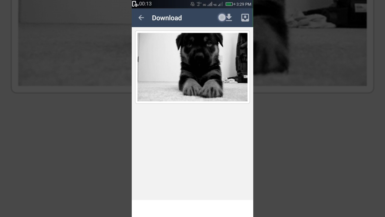 How to download from Tumblr for Android