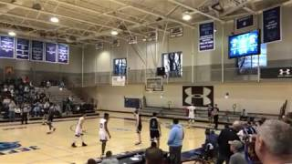 A game-winning basket goes full court in .4 seconds flat