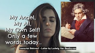 Beethoven's Love Letter to his Immortal Beloved with Moonlight Sonata | AyseDeniz