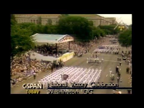 Watch National Victory Celebration Persian Gulf war Parade JUNE 8, 1991