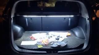 Скрытая подсветка багажника / Hidden light to car trunk KIA Sportage 2010-(Музыкальное сопровождение пришлось убрать из-за авторских прав.Так что получилось