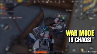 Playing With Subs | PUBG Mobile | War Mode Victory!