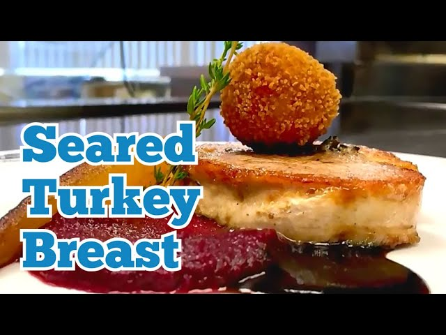 KITCHEN CRAFT - Seared turkey breast