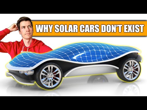 Why Don't Solar Powered Cars Exist?