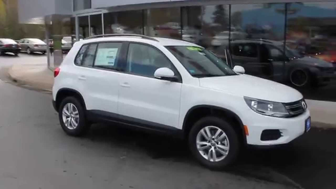 2015 volkswagen tiguan pure white stock 110350 walk. Black Bedroom Furniture Sets. Home Design Ideas