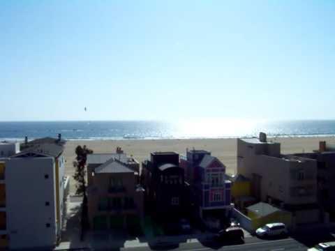Houses on the beach Santa Monica Ca