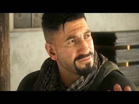 Ghost Recon Breakpoint - All Jon Bernthal Cutscenes