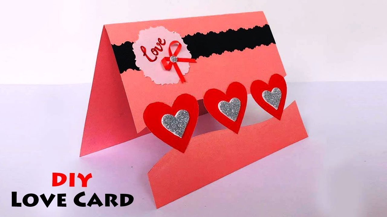 Love Greeting Cards Latest Design Handmade  Handmade Love Card Making  Ideas  #5