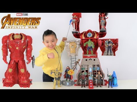 BIGGEST Avengers HULKBUSTER Ultimate Figure HQ Transforming Playset Superhero Fun With Ckn Toys