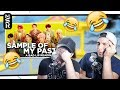 """GUYS REACT TO BTS """"SAMPLE OF MY PASTA"""" (A Bad Lip Reading)"""