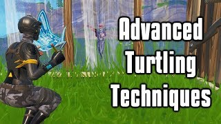 Advanced Turtling Techniques To Counter Aggression - Fortnite Battle Royale