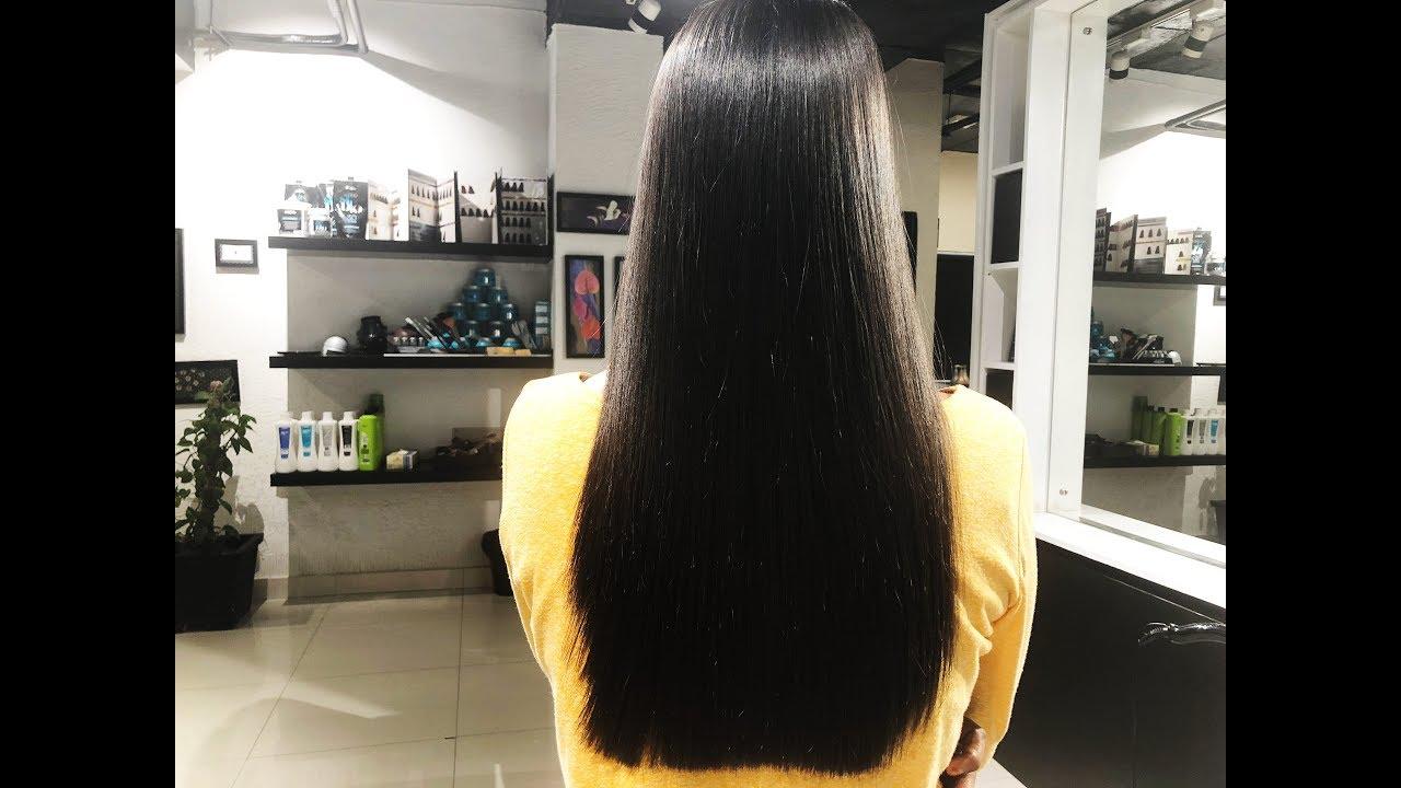 Keratin Treatment Keratin Hair Treatment By Pure Brazilian Cocoon Salon Youtube