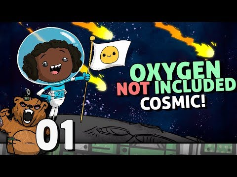 Atualização Cósmica! | Oxygen Not Included #01 Cosmic - Gameplay Português PT-BR