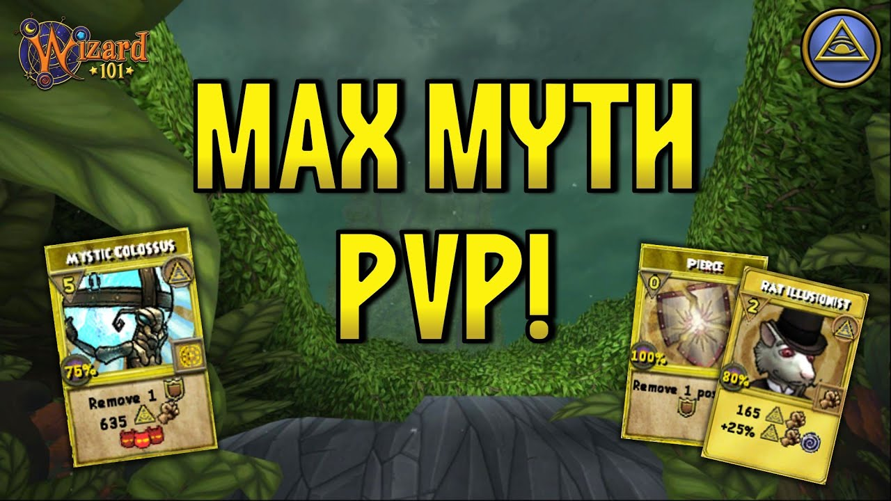 WIZARD101 MAX MYTH PVP (130): When Your Minion Forgets How to Play!