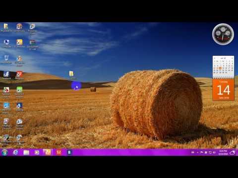 Windows 7 (64 Bit) Zawgyi Font & Keyboard ထည့္သြင္းနည္း.........