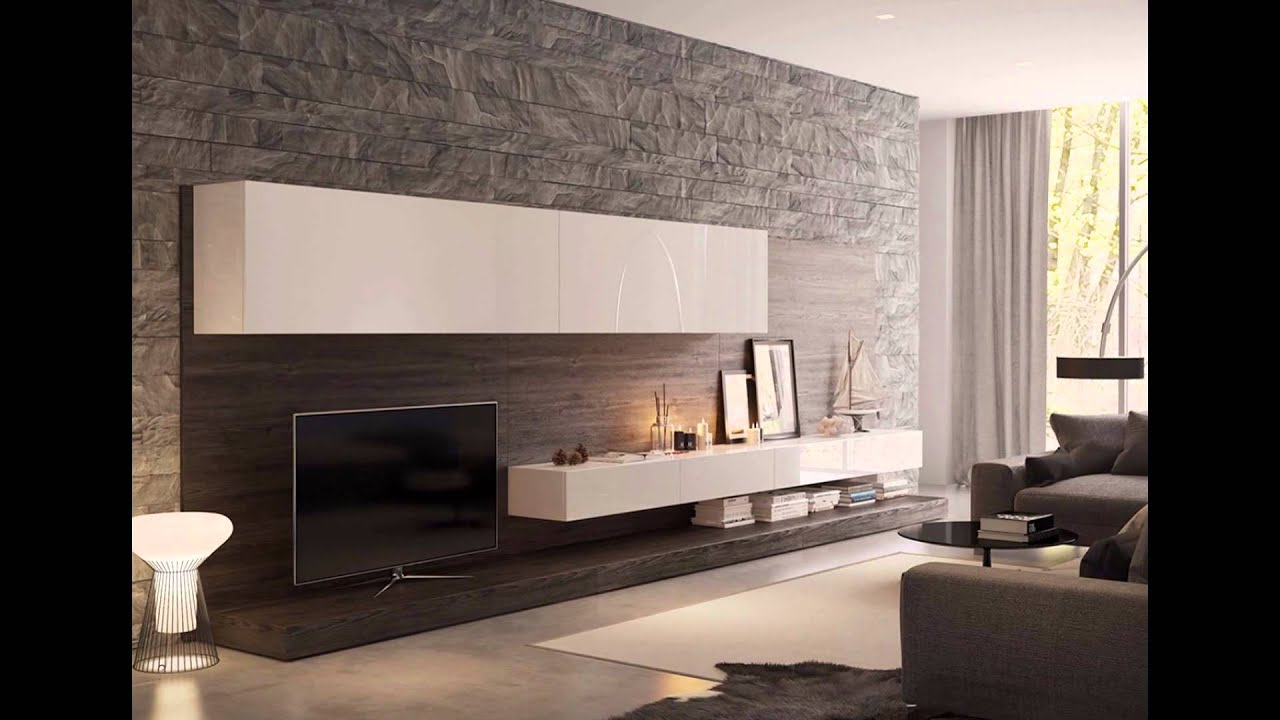 65 unique wall texture designs for the living room youtube for Interior design for drawing room wall