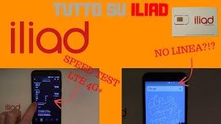 Iliad - Guida Attivazione SIM, SPEED TEST, INFO (+ MANCANZA di Copertura Telefonica!)
