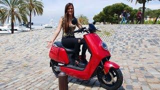 UNA PILA DE LIBERTAD!! La moto eléctrica transformer...