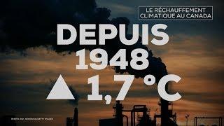 Le Canada se réchauffe deux fois plus vite que le reste de la planète