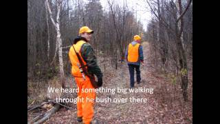 Kapuskasing Hunting and Shooting the sks, Agrium Crew 2 Team Building Oct 22/2010
