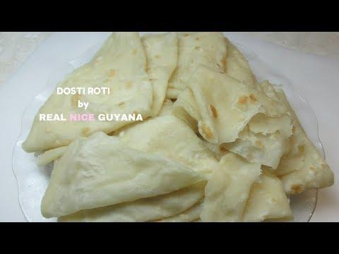 Guyana Dosti Roti, step by step Video Recipe  (HD)