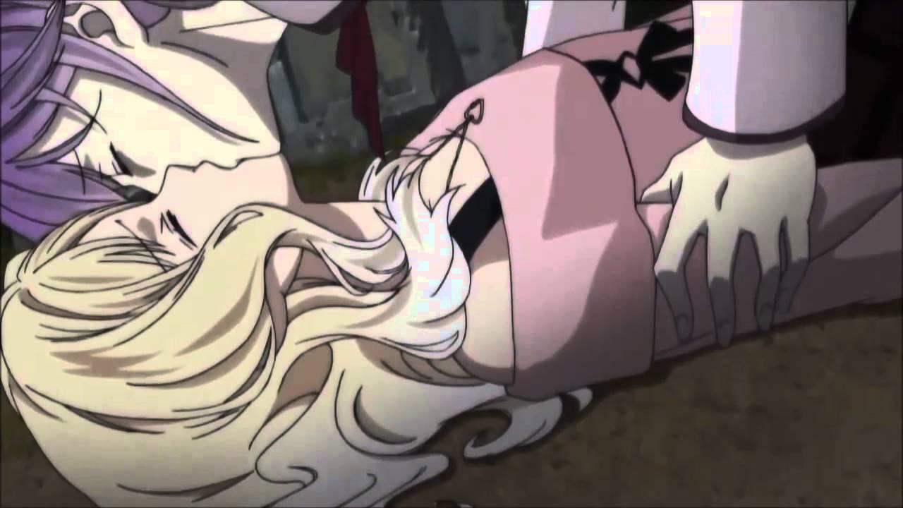 Сексуальные поцелуи аниме бесплатно