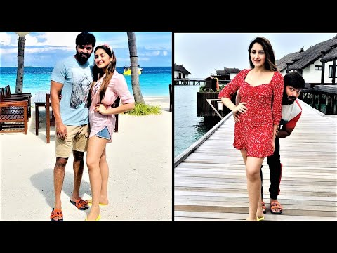 Actor Arya Sayesha Jolly Trip Moments !! Latest pics !! |TamilCineChips