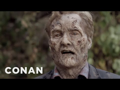 "Conan's ""The Walking Dead"" Cold Open"