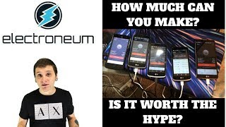 IS MINING ELECTRONEUM WORTH IT?!? | I TESTED 11 SMARTPHONES