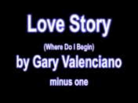 Love Story (Where Do I Begin) by Gary Valenciano karaoke minus one