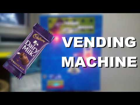 Dairy Milk Vending Machine