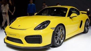 Porsche Cayman GT4 долго ждали.  В России от 5 млн.руб.  Тест-драйв Porsche Cayman...
