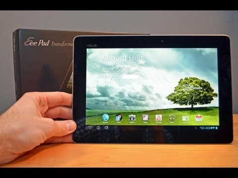 Asus Transformer Prime (Android 4.0): Unboxing & Detailed Review