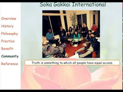 Introduction to Soka Gakkai Nichiren Buddhism