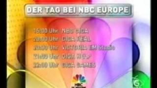 Programmansage NBC GIGA