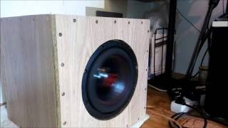 Subwoofer Digital Designs RedLine 508c