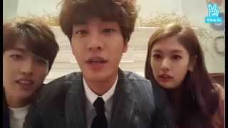 [V app LIVE] Live Backstage with 영광's D-Day (With Jung So Min & Lee Sung Yeol)